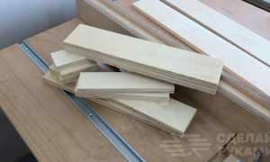 Самодельная оснастка-шаблон для ручного фрезера