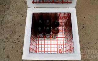 Мобильный ящик-термос для прохладительных напитков