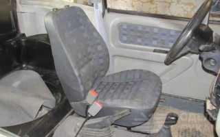Делаем кресло на дачу из старого сиденья из авто