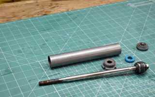 Как сделать компактный ручной насос из амортизатора авто