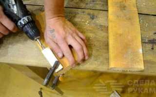 Кондуктор для соединения деревянных деталей на косой шуруп
