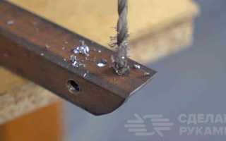 Полезный инструмент из обрезков профильной трубы