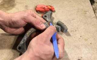 Как отлить проставку опорного подшипника из алюминия