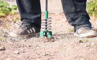 Изготовление садового мини электробура своими руками