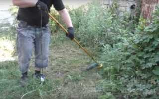 Электрокосилка для газона из болгарки