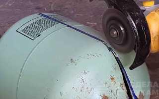 Походная барбекюшница из фреонового баллона и запчастей авто