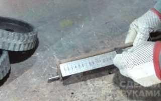 Как самому сделать триммер из болгарки на колёсах