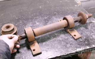 Приспособа для холодной ковки из вала от циркулярки
