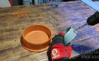 Органайзер для метизов из пластиковых заглушек