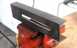 Слесарные тисы из автомобильного механического домкрата