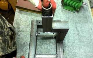 Компактный и простой в изготовлении шлифовальный станок