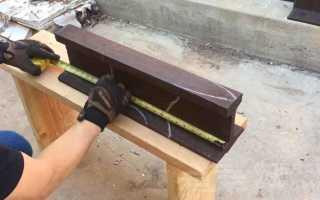 Как сделать небольшую наковальню из старого рельса