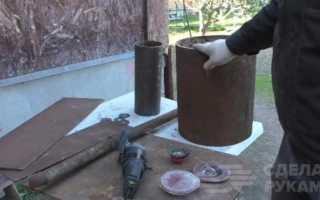 Печь для бани своими руками из металлолома