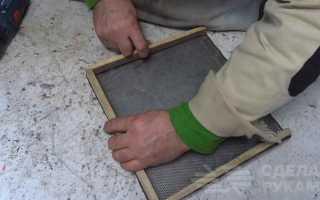 Как сделать вибросито с электроприводом для просеивания песка