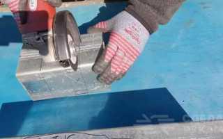 Самодельный кондуктор (шаблон) для профильных труб