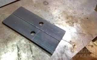 Самодельный ручной зажим для фиксации заготовок