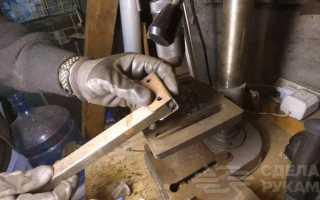 Механический заклепочник для резьбовых заклепок из старого хлама