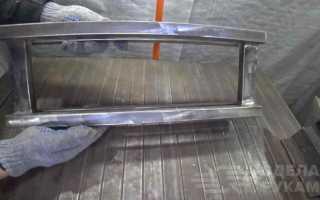 Станок для зачистки круглых и квадратных труб из металла