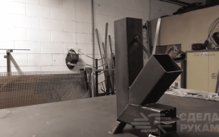Варочная поверхность для самодельной ракетной печи