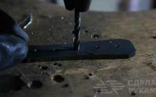 Как сделать мини топорик из куска пильного диска