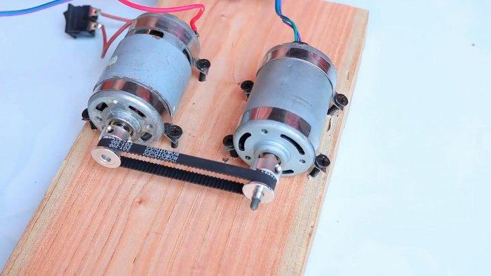 Механический преобразователь 12 - 220 В