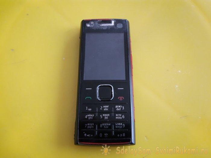 Звонок на дверь из старого мобильника