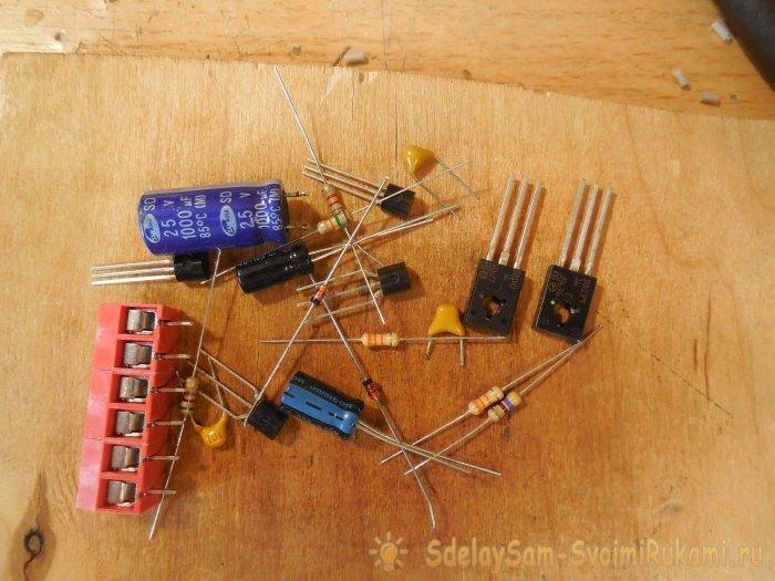 Усилитель звука на транзисторах