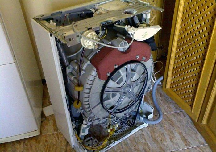 Самодельная гидроэлектростанция из старой стиральной машины