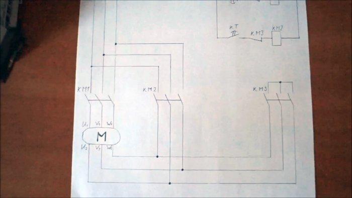 Как подключить двигатель по схеме звезда-треугольник