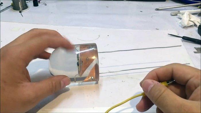 Как сделать огромный светодиод LED