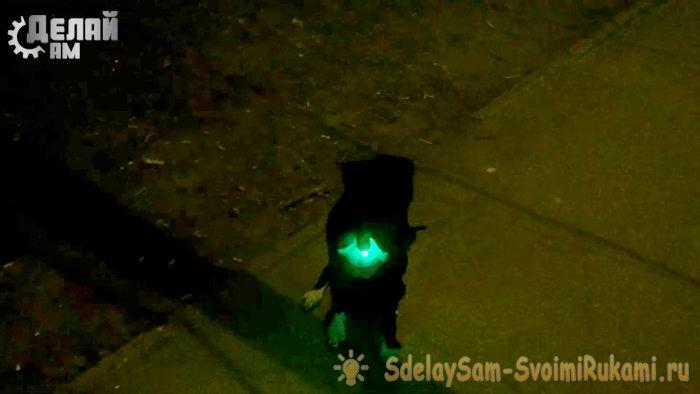 Вечный фонарик в киндере