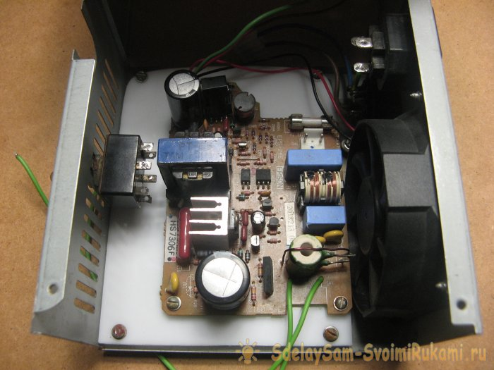 Прожектор для мастерской из хлама