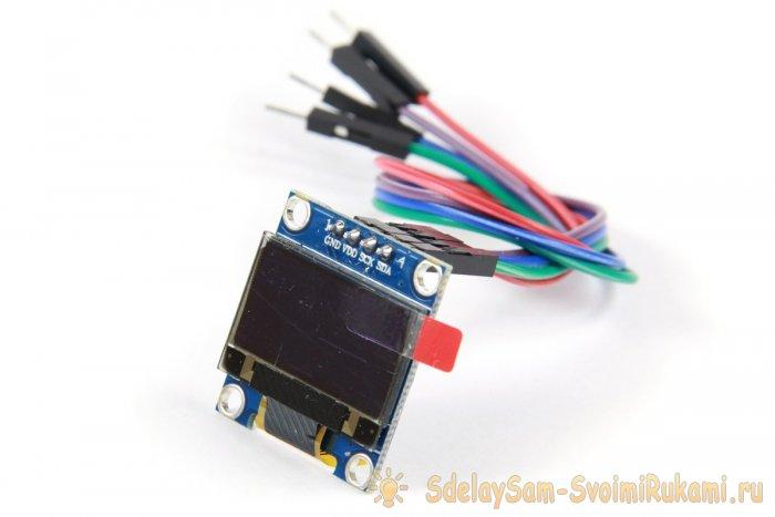 Как подключить OLED I2C дисплей к ARDUINO