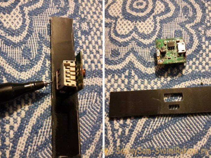 Power bank из сломанного планшета