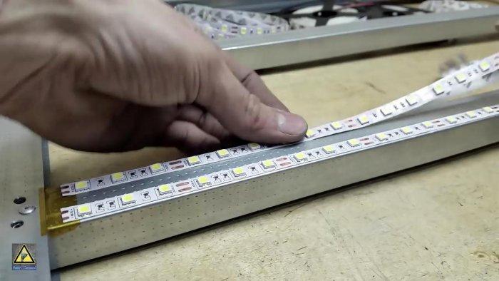 Дешевые светильники для освещения мастерской