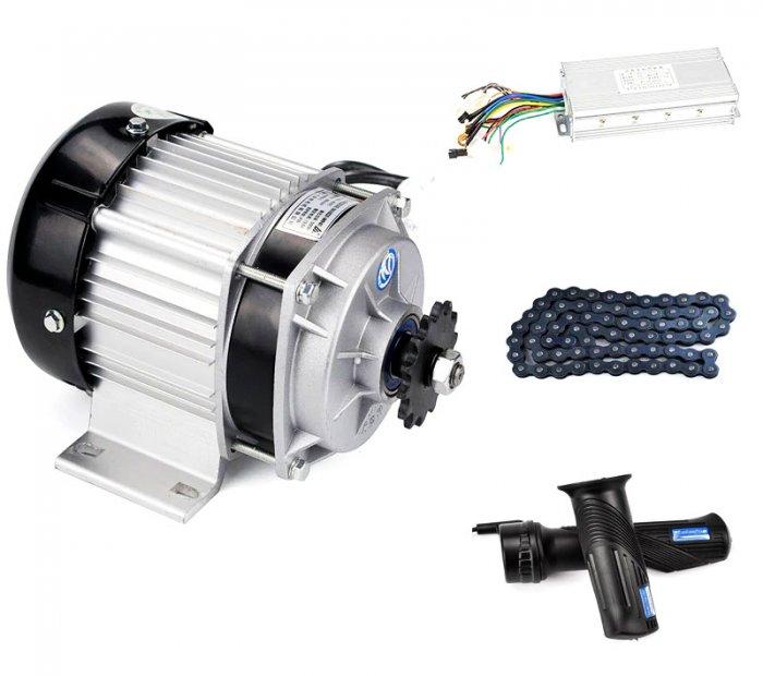 Мощный электровелосипед на асинхронном электродвигателе