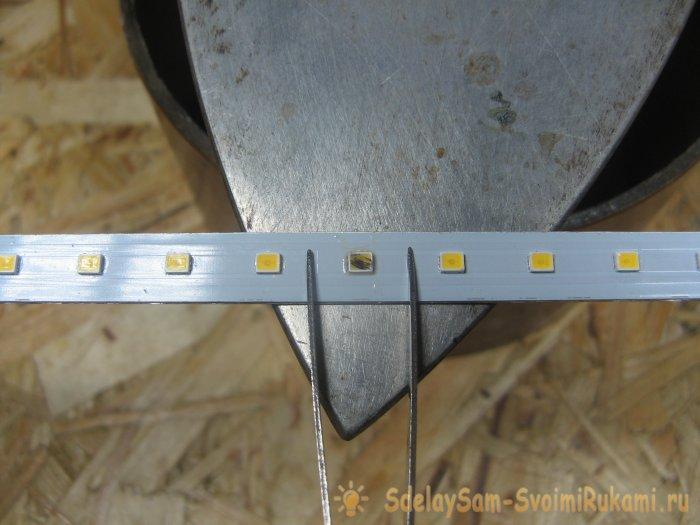Как паять светодиоды утюгом