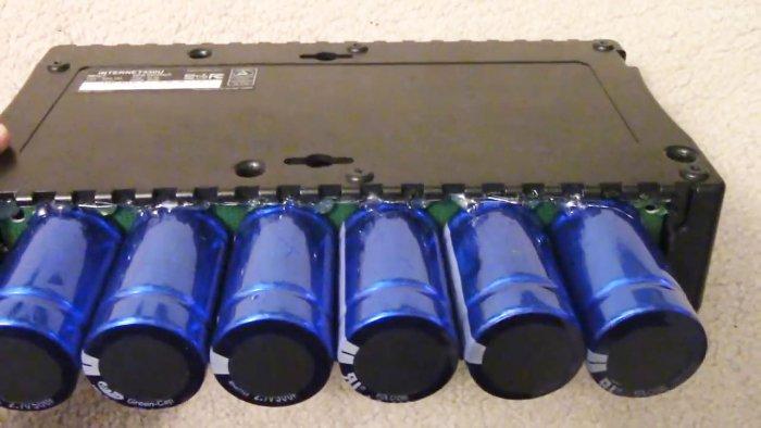 Ставим суперконденсаторы в ИБП вместо аккумулятора
