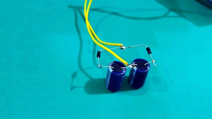 Как удвоить напряжение с трансформатора просто