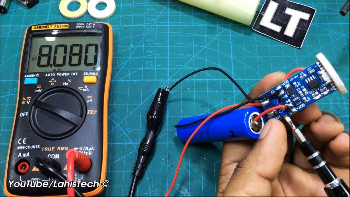Как сделать удобную недорогую аккумуляторную электроотвертку